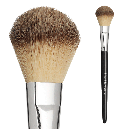 BIKOR PRO BRUSH N°2 SYNT. POWDER